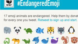 Utilisez des émojis pour sauver les animaux en voie de disparition !