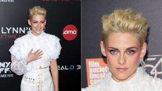 Kristen Stewart lumineuse et blonde platine sur tapis rouge (11 PHOTOS)