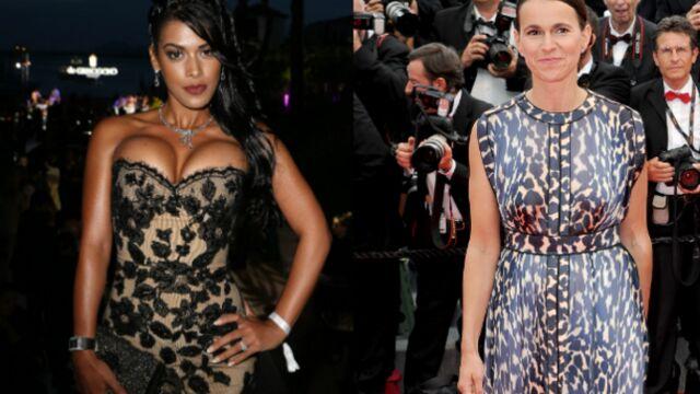 CANNES 2014 : la sexy Ayem sous les projecteurs et la ministre Aurélie Filippetti ne veut pas d'ombre