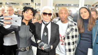 Willow Smith, Pharell Williams... défilé de stars chez Chanel (13 PHOTOS)