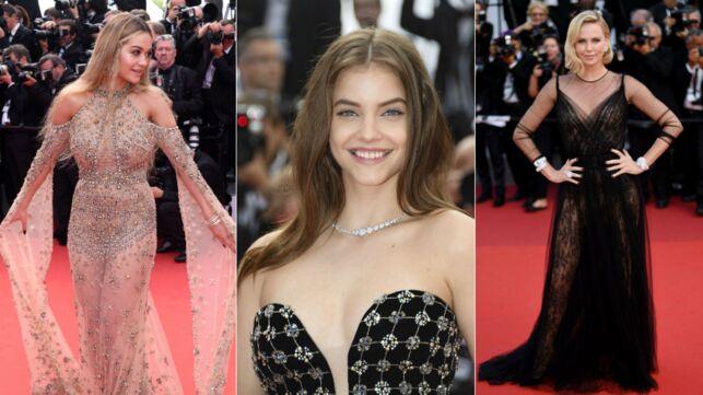 e4d32e5f69aa4f Le tapis rouge des 70 ans du Festival de Cannes a attiré un impressionnant  parterre de stars. Rita Ora et Barbara Palvin ont affolé les photographes,  ...