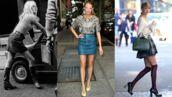 Brigitte Bardot, Blake Lively, Taylor Swift... Elles ont toutes craqué pour la mini-jupe ! (22 PHOTOS)