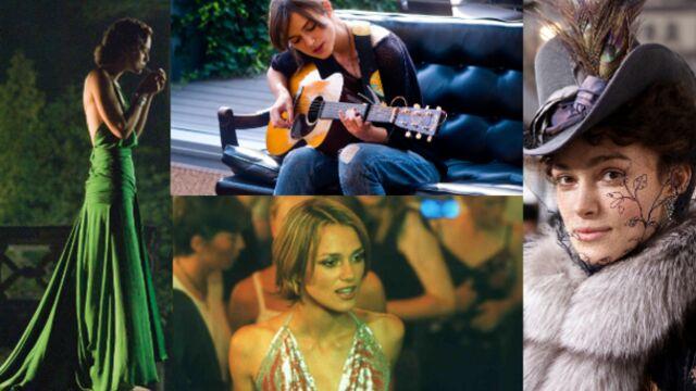 Les plus beaux rôles de Keira Knightley (PHOTOS et VIDEOS)