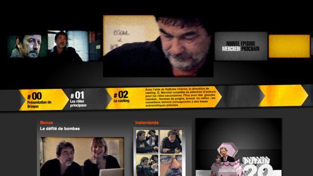Braquo, la série événement de Canal +, à découvrir sur le Web