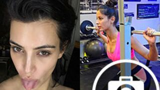 Instagram : Malika Ménard sexy au sport, Kim Kardashian méconnaissable au naturel ! (30 PHOTOS)