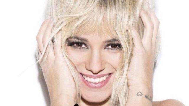 Alizée est blonde !