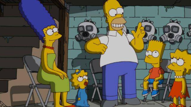 La ville de Springfield rend hommage aux Simpson