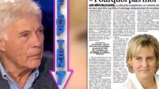 """Guy Bedos relaxé pour pour avoir traité Nadine Morano de """"conne"""""""