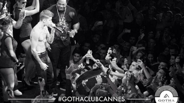 CANNES 2014 : Justin Bieber en concert exceptionnel