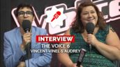 Leur place en finale de The Voice 6, leur statut de favori et d'outsider... Les confessions de Vincent Vinel et Audrey (VIDEO)