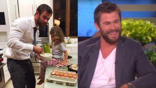 Chris Hemsworth : sa fille veut un pénis comme ses frères ? L'acteur a eu la meilleure des réactions ! (VIDÉO)