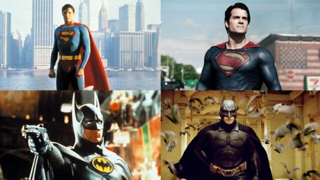 Batman v Superman : tous les acteurs qui ont incarné l'un de ces deux superhéros (19 PHOTOS)