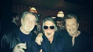Johnny Hallyday, Eddy Mitchell et Jacques Dutronc envisagent une série de concerts ensemble