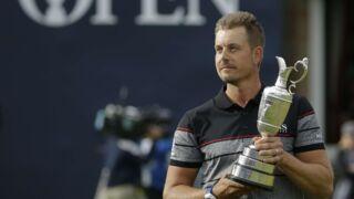 Golf : Henrik Stenson passe à la postérité en remportant le British Open