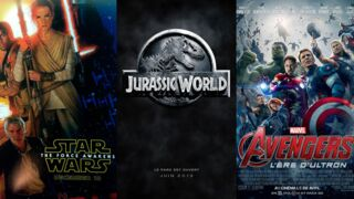 Box-Office USA 2015 : Star Wars, Jurassic World et Avengers 2 sur le podium (INFOGRAPHIE)
