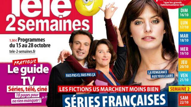 A la Une de Télé 2 semaines : l'heure de la revanche a sonné pour les séries françaises