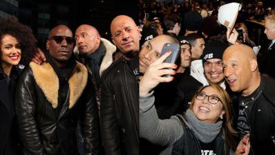 Fast & Furious 8 : Vin Diesel, Dwayne Johnson et Michelle Rodriguez font le show à New York (PHOTOS)