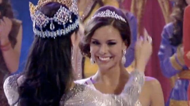 Miss France élue première dauphine de Miss Monde