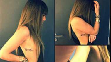 adolescent chatte tatouage