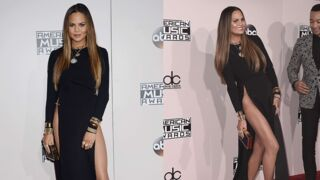 Chrissy Teigen s'excuse après son accident de robe aux American Music Awards (PHOTOS)