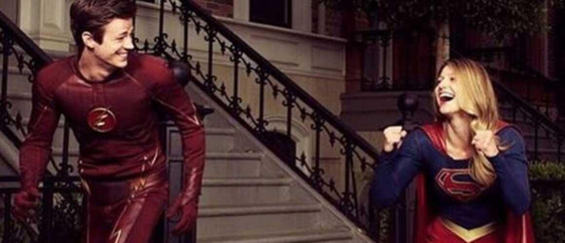 Flash x supergirl un crossover de super h ros pr vu pour le mois de mars - Flash le super heros ...