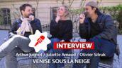 Venise sous la neige : surnoms mignons, disputes, mensonges... L'interview 100% vie de couple ! (VIDÉO)