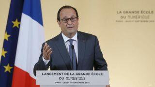 Quand François Hollande s'invite (par surprise) dans les locaux de France Télévisions