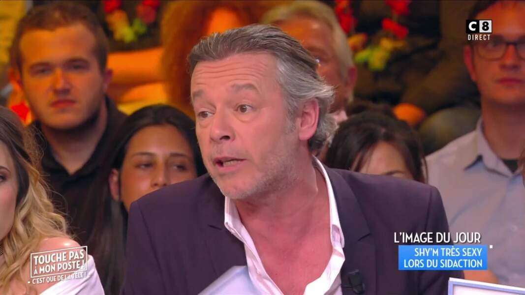 Ivre, Jean-Michel Maire s'est fait tatouer un gecko asiatique sur l'épaule et dans le cou