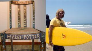 Et si la chaise de J.K. Rowling et le surf de Brice de Nice vous appartenaient ?