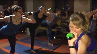 Le yoga version allemande : quand le lotus se pratique une bière à la main