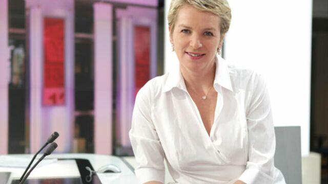 Elise Lucet, guest de Vestiaires sur France 2