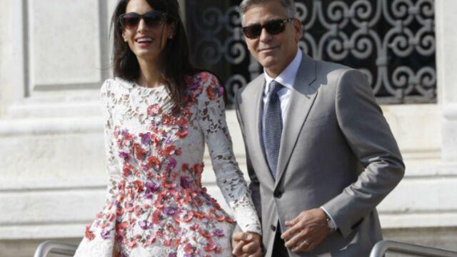 George Clooney marié : première sortie publique des époux (PHOTOS)