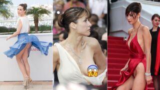Festival de Cannes : Sophie Marceau, Brigitte Bardot, Bella Hadid... 70 ans d'accidents de lingerie ! (PHOTOS)