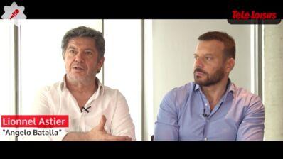 """Samuel Le Bihan et Lionnel Astier (Alex Hugo, France 2) : """"Nos personnages sont remis en question"""" (VIDEO)"""