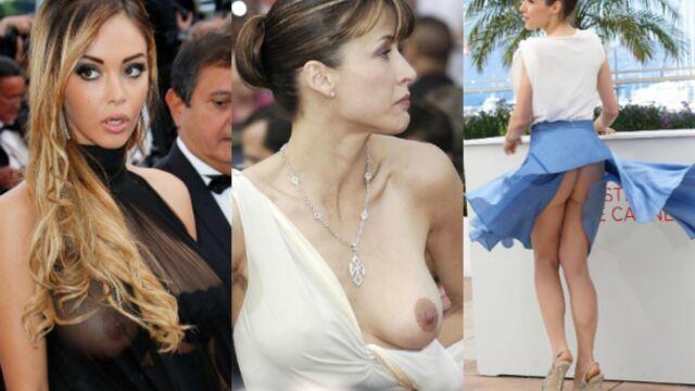 Laura Pausini, Sophie Marceau, Nabilla... Le top des accidents de lingerie (PHOTOS)