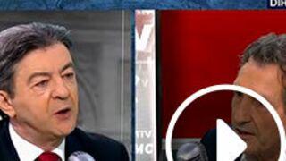 Vif échange entre Jean-Jacques Bourdin et Jean-Luc Mélenchon sur BFM TV (VIDEO)
