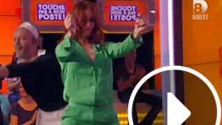 Audrey Fleurot : son booty shake très hot dans Touche pas à mon poste (VIDEO)