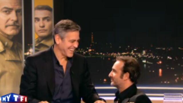 Jean Dujardin s'invite aux côtés de George Clooney chez Nespresso