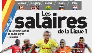 Pour son dossier sur les salaires de Ligue 1, L'Equipe va proposer 26 unes différentes ce vendredi 16 décembre !