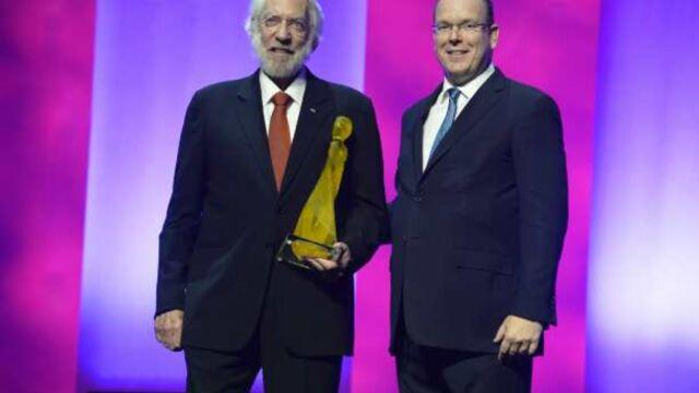 Festival de télévision de Monte-Carlo : Donald Sutherland honoré