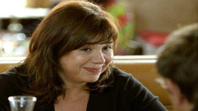 Michèle Bernier en tournage pour France 3