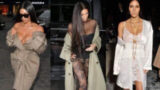 Avant sa nuit de cauchemar à Paris, Kim Kardashian insouciante à la Fashion Week (10 PHOTOS)
