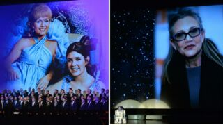 Dan Aykroyd et les proches de Carrie Fisher et Debbie Reynolds leur ont rendu hommage (PHOTOS)
