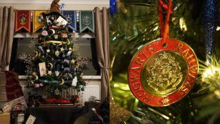 Un sapin 100 % Harry Potter pour Noël ? Cette Anglaise l'a fait ! (PHOTOS)