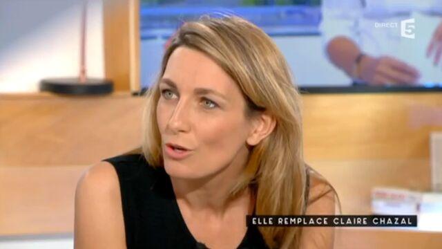 Pourquoi Anne-Claire Coudray n'a pas adressé de message à Claire Chazal dans son JT ? Elle répond...