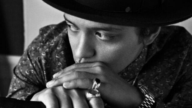 Bruno Mars, invité en février à la Star Academy