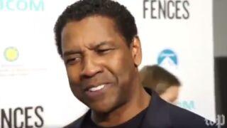 Denzel Washington pousse un coup de gueule contre les médias (VIDEO)