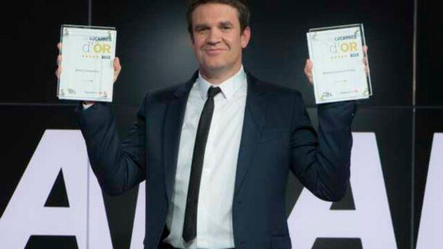 Lucarnes d'or : Hervé Mathoux, meilleur présentateur