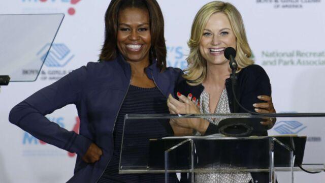 Michelle Obama a tourné dans une série américaine