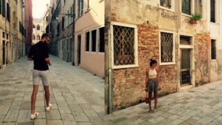 Shy'm et le tennisman Benoît Paire ensemble en vacances à Venise ?